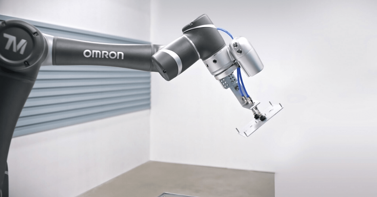 Omron's cobots from Metecno.